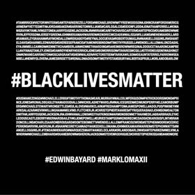 Mark Lomax Black Lives Matter Cover