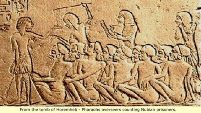 Cheikh Anta Diop Chapter 8 Vis 6 Nubian prisoners