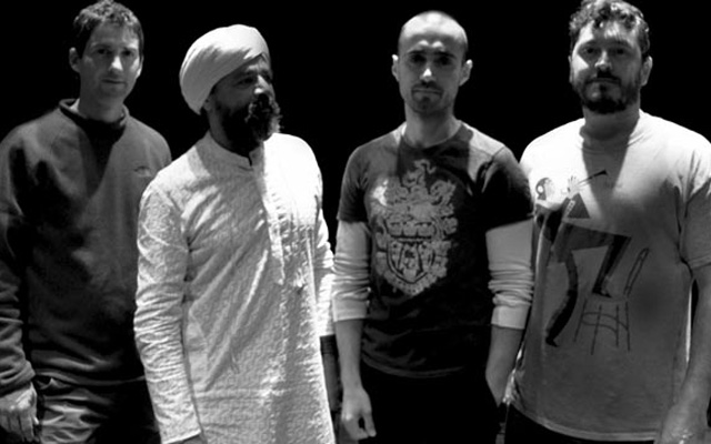 l-r: Mike Shannon, Jasnam Daya Singh (Weber Iago), Hristo Vitchev, Dan-Robbins