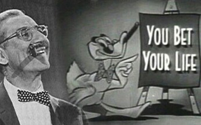 Groucho Marx: Art, Appropriation, Etc…