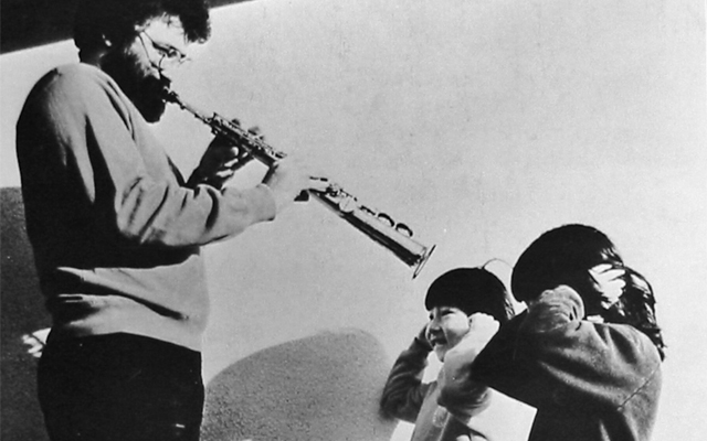 Evan Parker|Mark Nauseef|Toma Gouband: as the wind