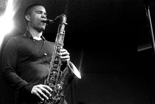 David Sánchez plays the Tenor Saxophone