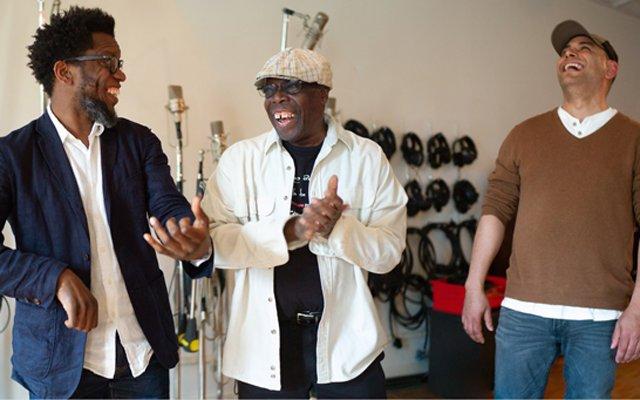 Aruán Ortiz with Andrew Cyrille and Mauricio Herrera: Inside Rhythmic Falls