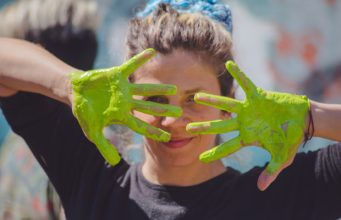 """Victoria Elena Ferreyra: """"With a paintbrush in your hand you can change the world."""""""